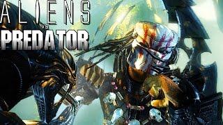 "Aliens vs Predator #2 (Gameplay/PT-BR) - ""PREDATOR"" - Batalha Contra Os Aliens"