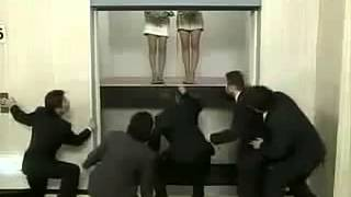 Japanese Elevator Prank