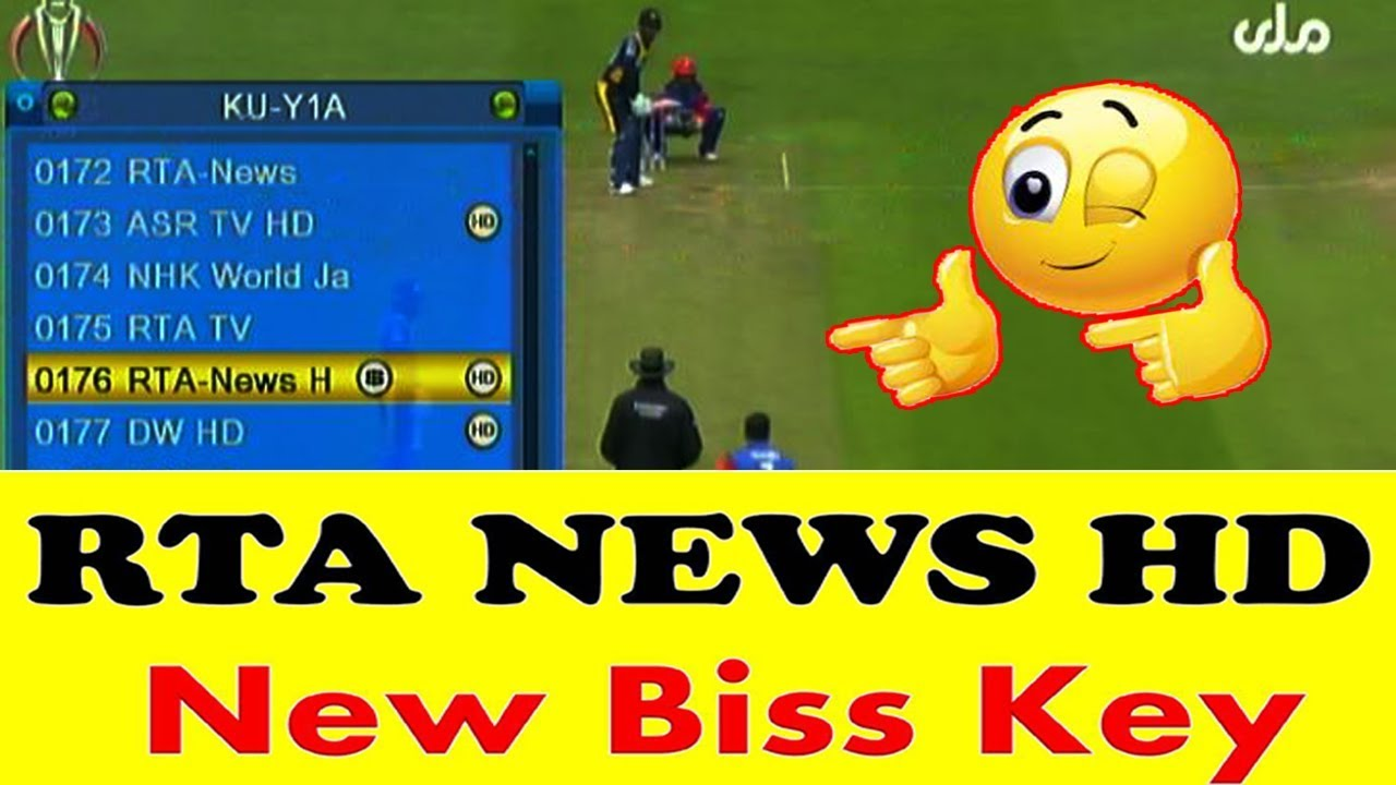 RTA News HD New Biss Key