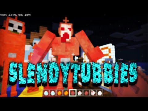 minecraft:-slendytubbies-add-on-v2- -horror-addon-with-scary-sounds!!!