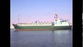 قبطان سفينة بالقناة يوجه تحية للعاملين بقناة السويس الجديدة