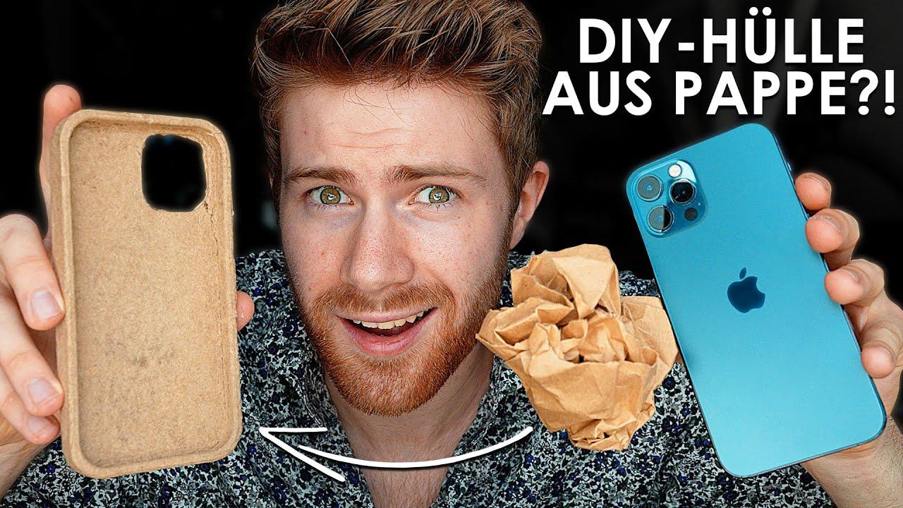 Handyhülle aus Pappe mit 3D-Drucker machen! + Droptest