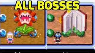 Bomberman Max 2 (GBA) - All Bosses (Both Characters)