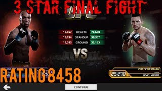 EA SPORTS UFC Mobile - 3 Star Final Fight: Francis Carmont (LE2) Rating 8458 + Prize!