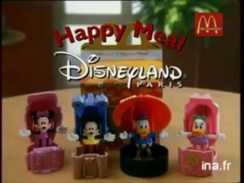 McDonald's Publicite: Disneyland Paris (1996, French)