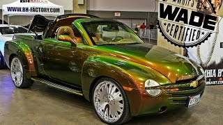 "Forgiato Fest Dallas : Chameleon Chevy SSR on 22"" Forgiatos"