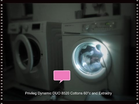 Privileg Dynamic DUO 8520 Cottons 60°c + Extradry