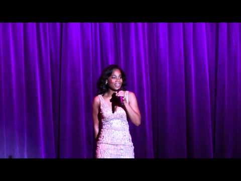 Voice of Tiana in The Princess and the Frog sings live at Disney D23 Expo