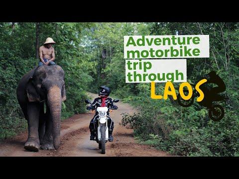 Adventure motorbike trip