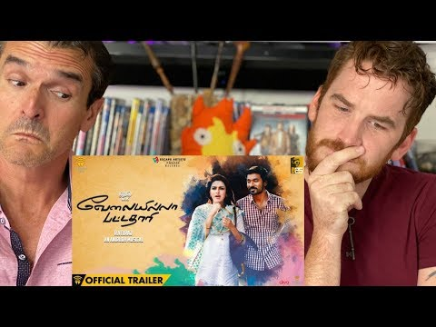 VELAI ILLA PATTADHAARI Trailer REACTION!! | Dhanush