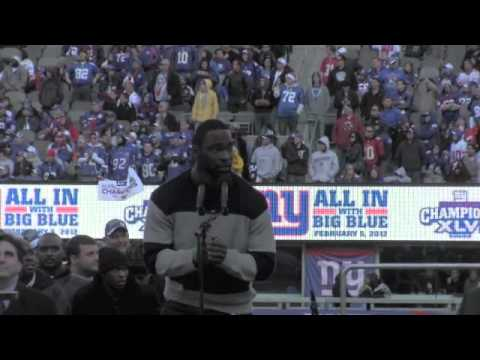 Justin Tuck Takes MetLife from the Jets