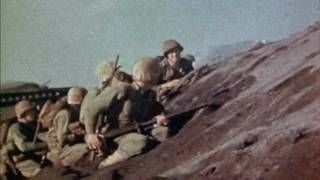 WWII Iwo Jima Rare Combat Footage IN COLOR
