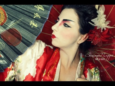 La Geisha...芸者.. Make Up Tutorial