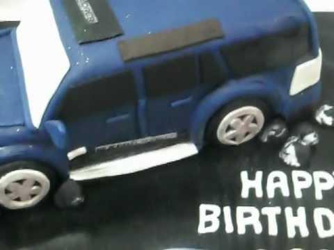 Fresco Foods Creates An Explorer 4wd Truck Birthday Cake