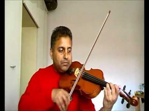 Lal Dupatta played on violin by Bhupinder Roopra