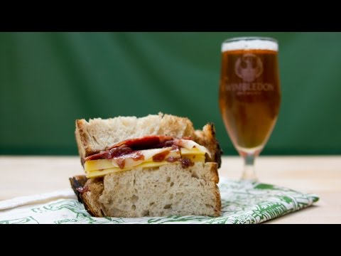 The ultimate ham & cheese sandwich   The Craft Beer Channel