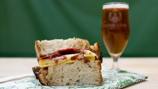 The Ultimate Ham & Cheese Sandwich | The Craft Beer Channel