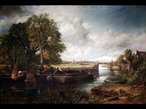 John Constable, View on the Stour near Dedham