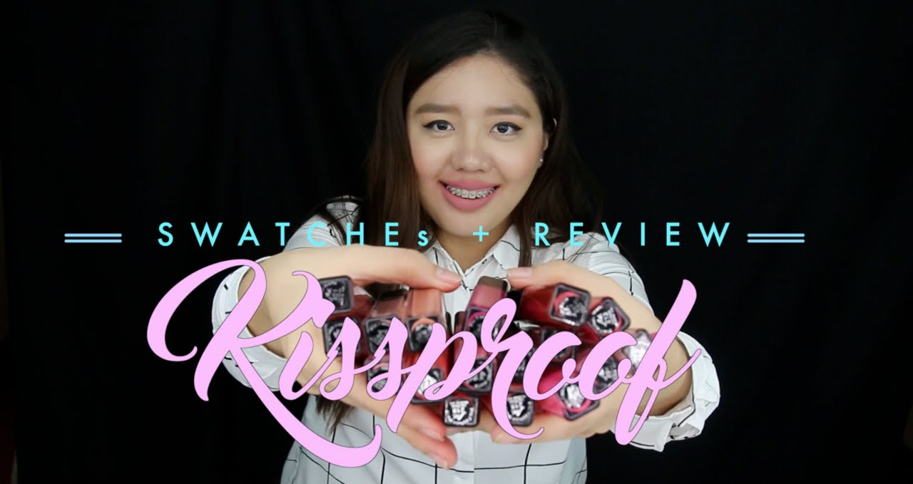 60 Pesos Kiss Proof Lip Creams Swatches Review Irish Faith Youtube Kissproof Matte Cream
