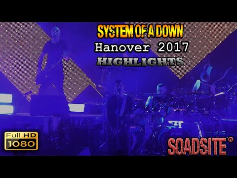 System Of A Down - TUI Arena, Hanover, Germany 2017 Highlights