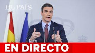 DIRECTO #CORONAVIRUS | Rueda de prensa posterior al CONSEJO DE MINISTROS EXTRAORDINARIO