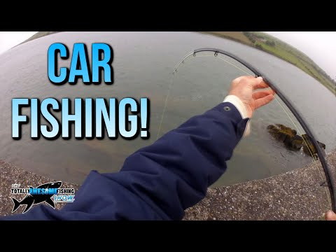 Fishing from a Car in a Storm! | TAFishing