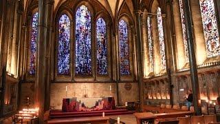 Англия: собор в Солсбери / UK: Salisbury cathedral