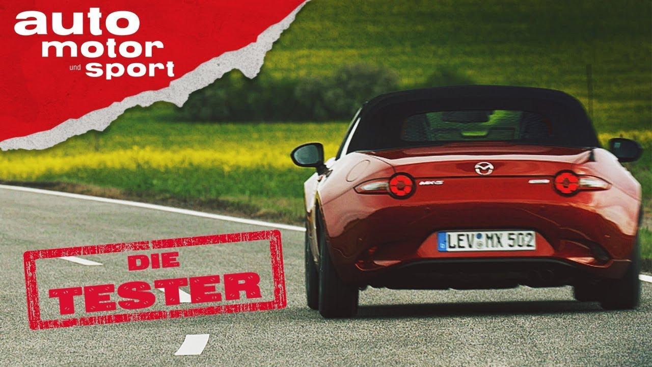 Mazda MX-5: Roadster in Perfektion? - Die Tester | auto motor und ...