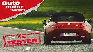 Mazda MX-5: Roadster in Perfektion? - Die Tester | auto motor und sport