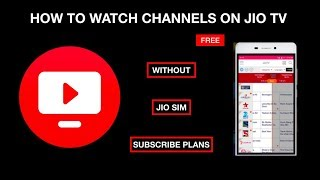 How to use JIOTV without JIO SIM or JIO Subscription | JIOTV TRICK with PROOF thumbnail