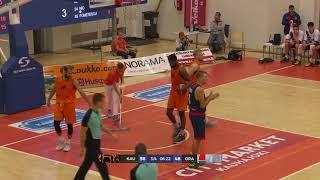Karhubasket - CSM CSU Oradea 20.9.2018 BCL QR1 Highlights