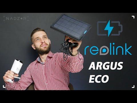 Автономная камера Reolink Argus Eco со встроенным аккумулятором. Обзор, подключение и примеры видео.