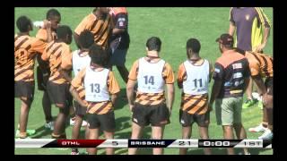 Quarter Final Cup 4 - OTML v Brisbane - 2014 Schoolboy Rugby 7s