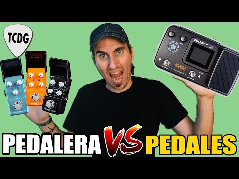 Pedalera VS Pedales: La Batalla Final De Los Efectos  ¿Cuál Es Mejor? ¿Qué Conviene Comprar?