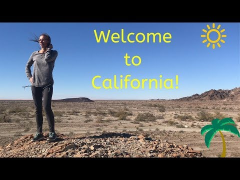 Welcome To California! Free Camping In SoCal - Sprinter Van Adventures