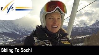 Skiing to Sochi with Julia Mancuso