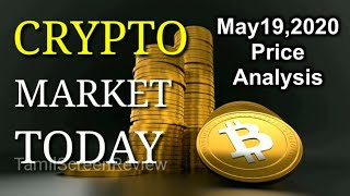 Bitcoin Technical Chart Intra day Price Analysis| May 19,2020| Aravindharaj |Crypto Market Today |