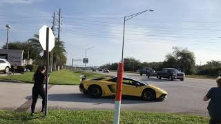 Guy Drifts Lambo And Runs From Cops!!!