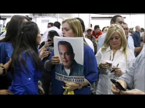 Exiled Venezuelan politician arrested on return