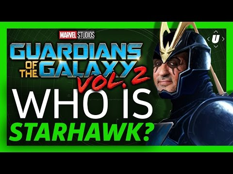 New in Guardians of the Galaxy Vol 2: Who Is Starhawk?