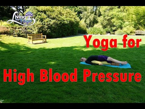 Yoga for high blood pressure or hypertension - 동영상