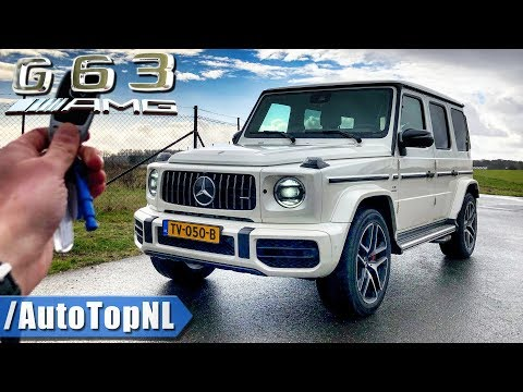 2019 Mercedes-AMG G63 REVIEW POV Test Drive On AUTOBAHN & ROAD By AutoTopNL