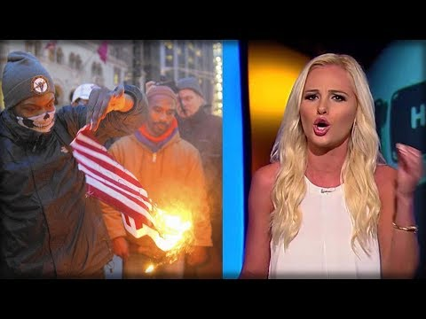 TOMI LAHREN JUST POINTED OUT WHAT FLAG BURNERS SHOULD TORCH NEXT