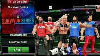 WWE MAYHEM SURVIVOR SERIES GAME PLAY