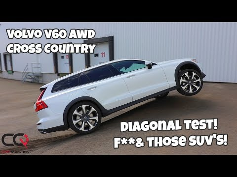 Volvo V60 Cross Country AWD Diagonal Test! | It's More Than Just A Wagon!!