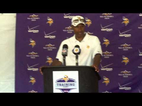 Vikings Training Camp 2012: Head Coach Leslie Frazier 2