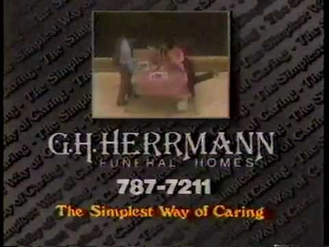 February 1987 - Ad for G.H. Herrmann Funeral Homes