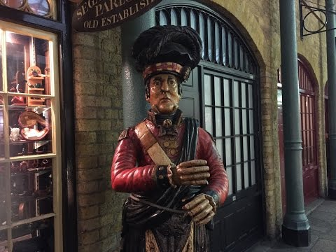 16 Feb 2016 Visit To Covent Garden Segar & Snuff Shop And Some Piaza Acts