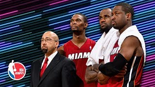 'Dwyane and LeBron tried to kill each other': Heat memories with David Fizdale | The Hoop Collective