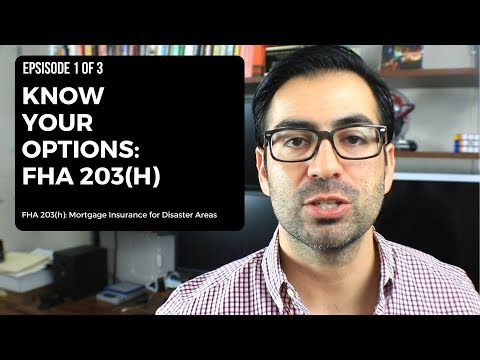 Know Your Options - FHA 203h